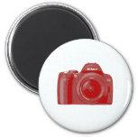 Camera & Grid Fridge Magnets