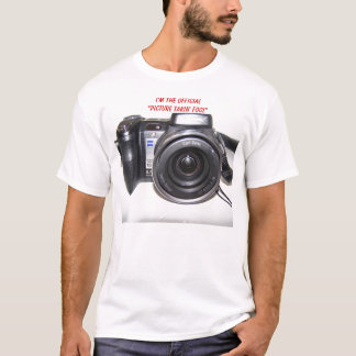 """Camera, I'm The Official """"Picture Takin' Fool"""" T-Shirt"""