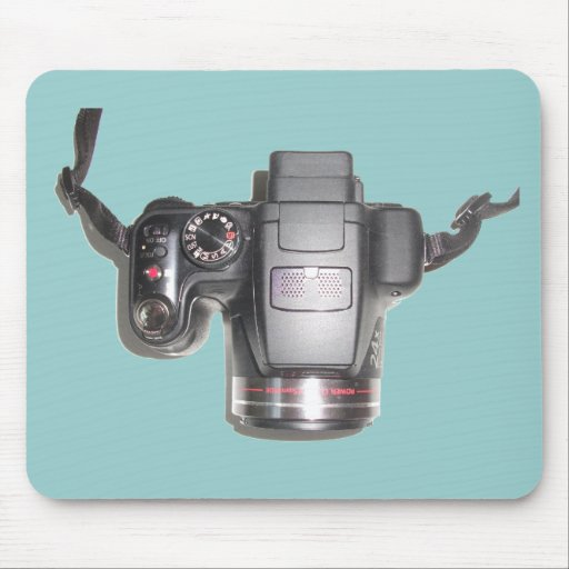 Camera Items Mouse Pad
