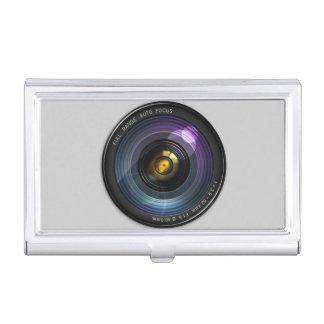 Camera Lens Business Card Case