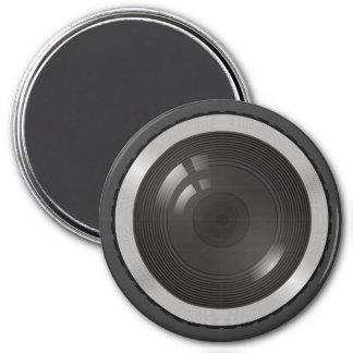 Camera Lens for the Nerd Geeks 3 Inch Round Magnet