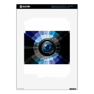 Camera lens iPad 3 skin