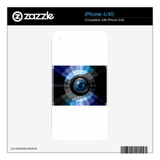 Camera lens iPhone 4S decal