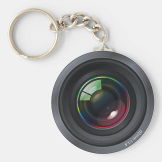 Camera Lens Keychain