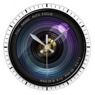 Camera Lens Large Clock