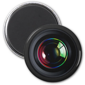 CAMERA LENS 2 INCH ROUND MAGNET