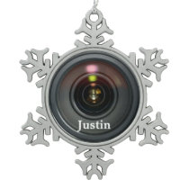 Camera Lens Ornament Customize it!