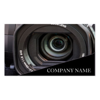 Camera Lens Photography Double-Sided Standard Business Cards (Pack Of 100)
