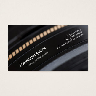 Camera Lens - Show your best image on the back Business Card