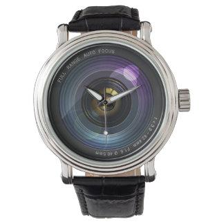 Camera Lens Watch