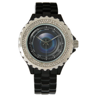Camera Lens Wrist Watch