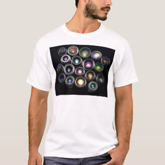 Camera Lenses T-Shirt