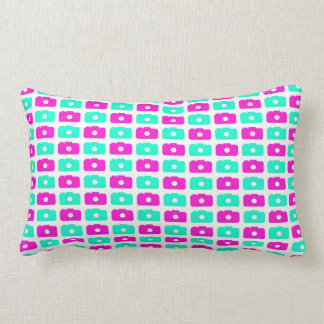 Camera Love (Blue and Pink) Pillows