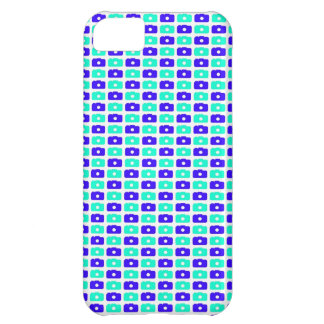 Camera Love iPhone 5 case (Blue and Cyan)