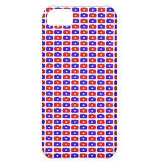 Camera Love iPhone 5 case (Blue and Red)