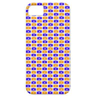 Camera Love iPhone 5 case (Orange & Blue)