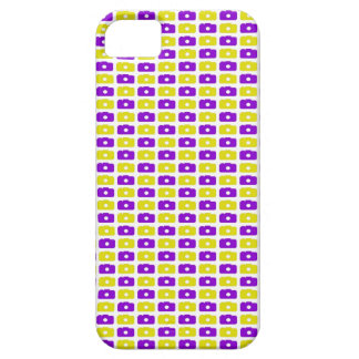 Camera Love iPhone 5 Case (Purple and Yellow)