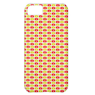 Camera Love iPhone 5 case (Red and Yellow