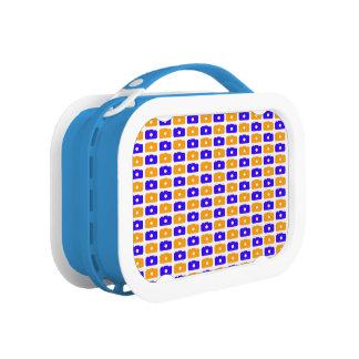 Camera Love Lunchbox (Orange and Blue)