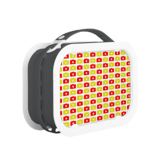 Camera Love Lunchbox (Red and Yellow)