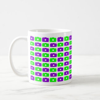 Camera Love Mug  (Green & Purple)