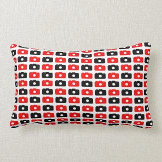 Camera Love (Red & Black) Pillows