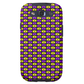 Camera Love Samsung Galaxy S III (Purple & Yellow) Samsung Galaxy S3 Cover