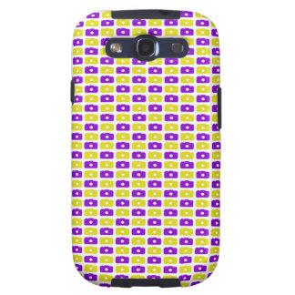 Camera Love Samsung Galaxy S III (Purple & Yellow) Galaxy SIII Cover