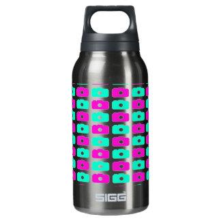 Camera Love Waterbottle (Green & Purple) Insulated Water Bottle