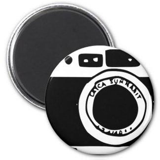 Camera 2 Inch Round Magnet