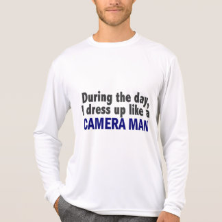 Camera Man During The Day T Shirts