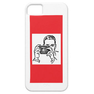 Camera Man iPhone SE/5/5s Case