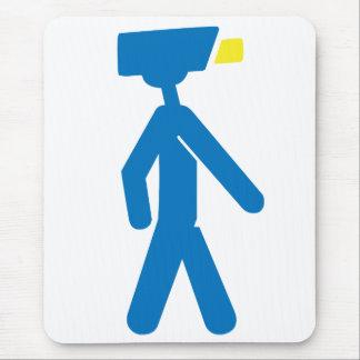 Camera Man Mouse Pad