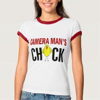Camera Man's Chick Tshirts