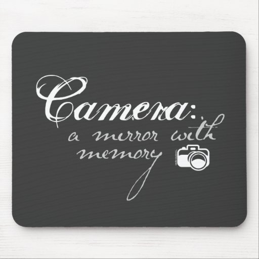 Camera: Mirror with Memory Mousepad