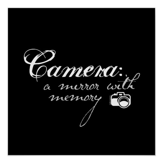Camera: Mirror with Memory Poster