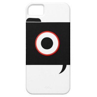 Camera- photography icon with speech bubble iPhone SE/5/5s case