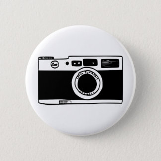 Camera Pinback Button