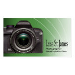 """Camera"" - Professional Photographer, Photography Business Card"