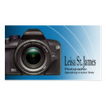 """Camera"" - Professional Photographer, Photography Business Card Template"