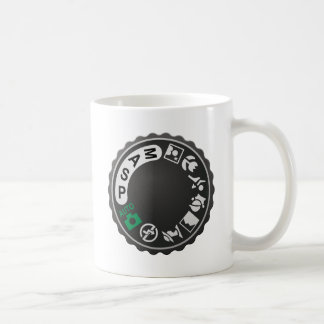 Camera Selection DIal Coffee Mugs