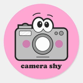 Shy Stickers | Zazzle
