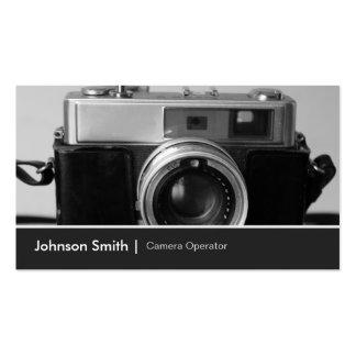 Camera Store Shop Retailer Dealer Agent Seller Business Card