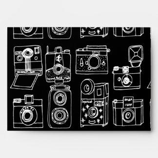 Camera - Vintage Cameras - B&W / Andrea Lauren Envelope