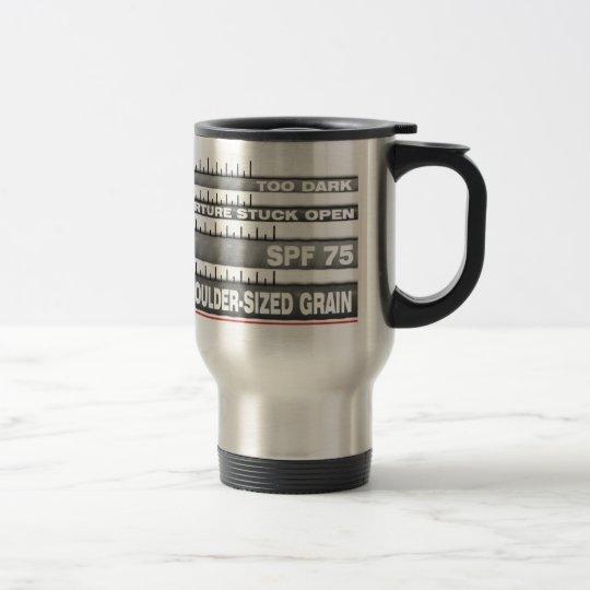 Camera Zoom Lens Travel Mug