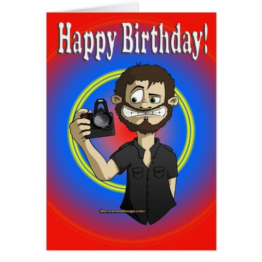 cameraman birthday card