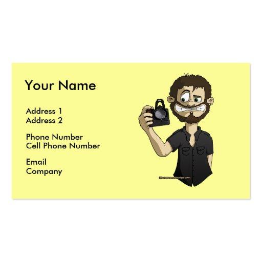 Cameraman Business Card