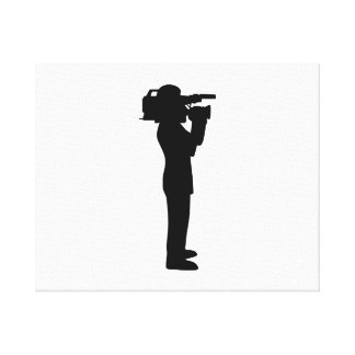 Cameraman Canvas Print