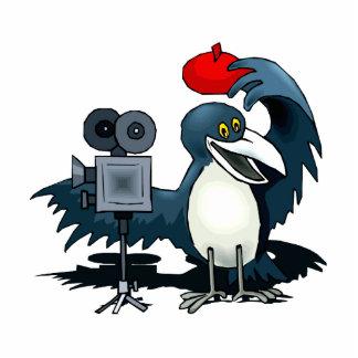 Cameraman Crow Cutout