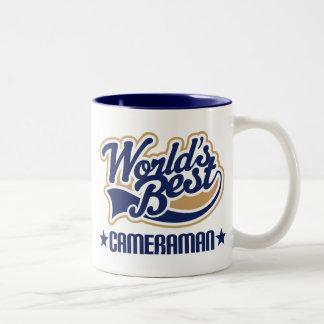 Cameraman Gift Two-Tone Coffee Mug